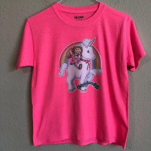 Vintage Cabbage Patch Kid Unicorn Iron-On T-Shirt